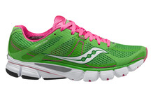 saucony Mirage 3  Lichtgewicht Hardloopschoenen Dames ProGrid groen/roze